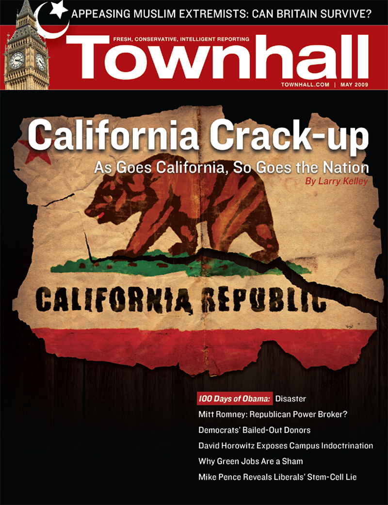 Townhall Cover, May 2009