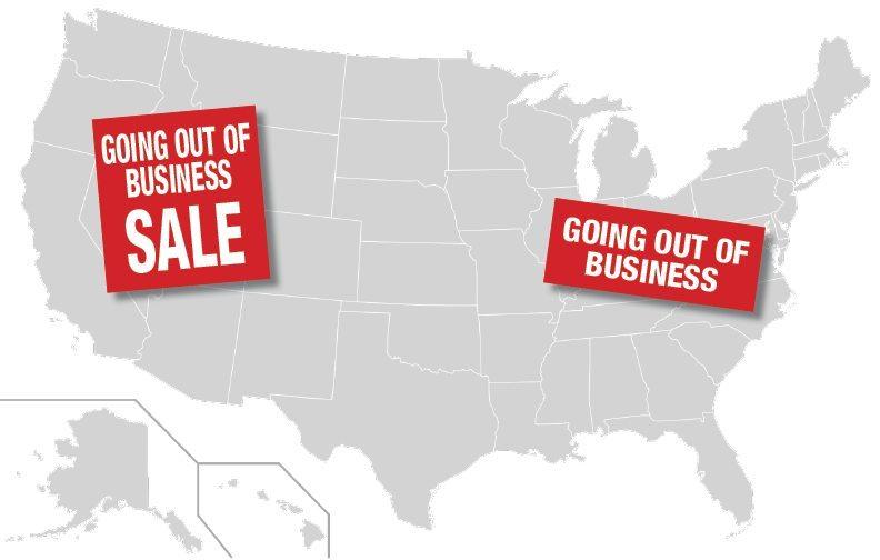 economy collapse map
