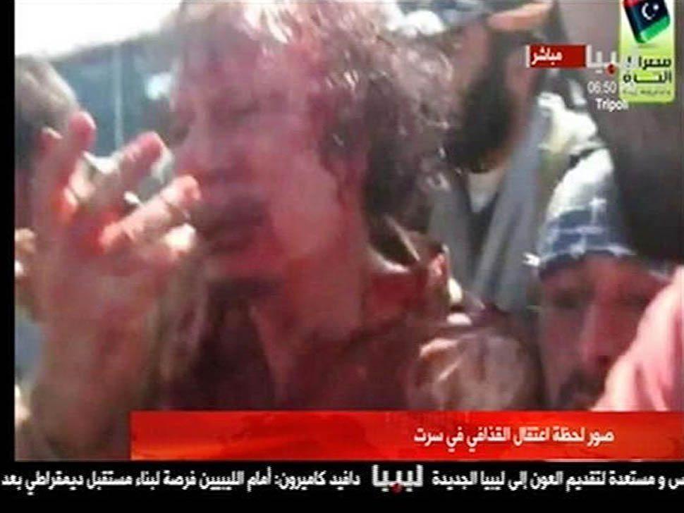 Moammar Kadafi killed in fall of Surt: ImgSrc: http://goo.gl/GNcmt